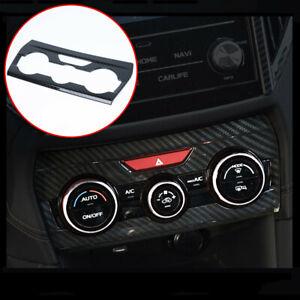 For Subaru XV Crosstrek Interior Air Conditioning Switch Panel Decorative Cover