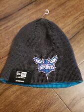 NBA Charlotte Hornets Beanie Knit Hat Reversible NWT New Era