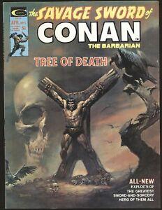 Savage Sword of Conan # 5 - classic Boris crucifixion cover VF/NM Cond.