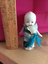 Vintage Occupied Japan Bisque Doll  Frozen Orange Hair