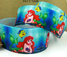 Ariel Disney Princess Character 25mm Grosgrain Ribbon for Card Making & Bow
