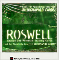 Roswell Season 1 Premium Trading Card Factory Box (36 packs) (Inkworks)