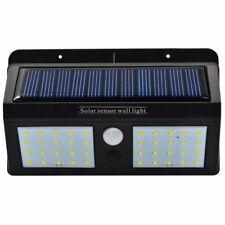 Luce LED faretto doppio solare accensione automatica movimento sensore notte PI4