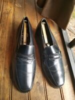 Florsheim Mens Shoes Black Leather Shoes Size 8.5