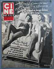►CINE REVUE 3/1953-ESTHER WILLIAMS-MARILYN MONROE-ERROL FLYNN-BRIGITTE BARDOT...