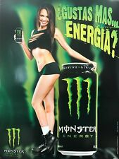 "3 Pack Of Monster Energy Posters! Motocross, Authentic! ""18 X 24"""
