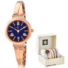 Anne Klein Navy Dial Ladies Watch Set AK-3414NRST