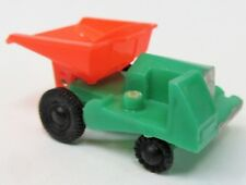 1960 Blue-Box 7423 DUMP TRUCK Hong Kong green orange plastic Matchbox Copy as-is
