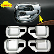 4x For Jeep Compass Patriot 2010 2016 Chrome Inner Door Bowl Molding Cover Trim Fits 2012 Jeep Patriot