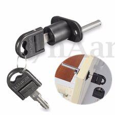 Zinc Alloy Furniture Office Filing Cabinet Drawer Locker Pedestal Lock w/ 2 Keys