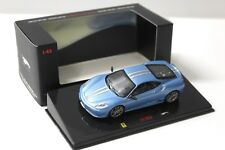 1:43 Hot Wheels elite ferrari f430 Scuderia Blue New en Premium-modelcars