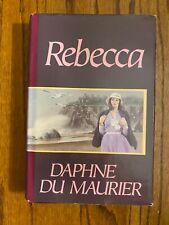 Rebecca by Daphne Du Maurier hardback book - 1938 - Best Seller Library edition