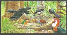 Salomoninseln Block 92 Vögel Habicht Kuckuck ua. postfrisch
