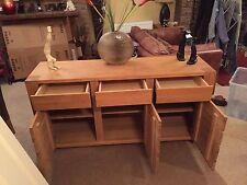 Oak Modern Sideboards, Buffets & Trolleys