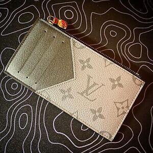 Louis Vuitton Coin Card Holder Wallet Monogram Eclipse Reverse Wallet LV M69533