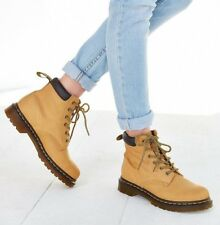 Dr. Martens Greasy Suede 939 Tan Brun Clair Womens Boots Size US 11  EUR 43