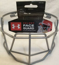 Under Armour UA Silver Baseball Softball Face Guard Batting Helmet Face Mask