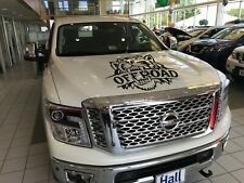 Any OFF Road Truck Hood Vinyl Decal 4x4 Racing Sticker Graphics Angry Mean Tiger