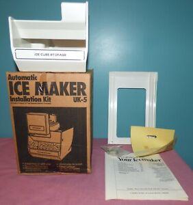 GE UK-5 Refrigerator Freezer Automatic Ice Maker Kit NOS