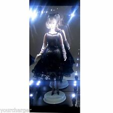 MB-1 Acrylic Display Case LED Light Box for Silkstone Barbie Fashion Model Doll