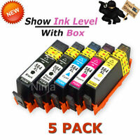 5Pk 564XL Ink Cartridge Set for HP Photosmart 5510 6510 6520 7510 7520 7525 5520