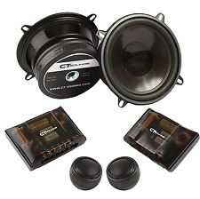 CT Sounds Strato 5.25 in 4 Ohm Car Audio Full Range 2 Way Complete Component Set