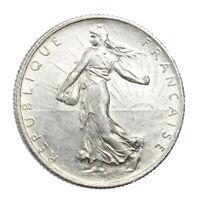Pièce Argent France 2 Francs Semeuse 1915 Silver Coin France