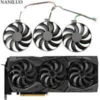 3pcs/set T129215SU 6Pin Cooler Fans For ASUS ROG STRIX-GeForce RTX 2080 2080 Ti