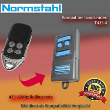 Handsender Garagentorantriebe 433,92 MHz NORMSTAHL T433-4 Funksender