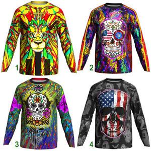 Cycling Jersey Downhill Jacket MTB Bike Coat Motocross Shirt Ride Moto Clothing