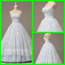 Lace A-Line Regular Size Sleeveless Wedding Dresses