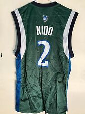 Adidas NBA Jersey Dallas Mavericks Jason Kidd Green sz XL