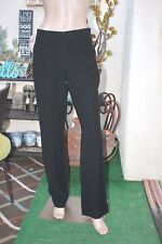 The ROW Black Dress Pants Classic Straight Skinny Bottom EUR 42/ US8