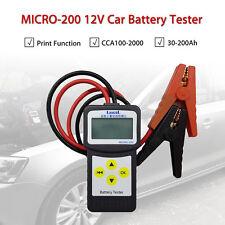 LANCOL MICRO-200 12V Car Battery Tester Diagnostic tool 30-200Ah 7-30VDC Digital