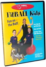 Fitball Kids Workout DVD Exercise Ball Program Cardio Stretch Home Gym Strength