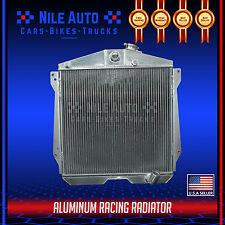 3 ROW RACING ALL ALUMINUM RADIATOR FOR 46-48 CHEVY FLEETLINE/FLEET/STYLEMASTER
