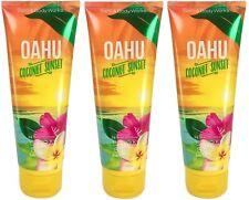 Bath & Body Works Oahu Coconut Sunset Body Cream X3