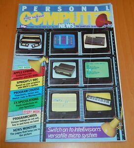 Rivista COMPUTER - PERSONAL COMPUTER NEW - n° 32 DEL 1983 - INTELLIVISION / ECS