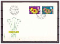 Liechtenstein, FDC Europa MiNr. 579 - 580 ESt 08.03.1973