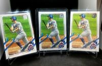 2021 Topps Series 1 Base #84 Pete Alonso - New York Mets 3 Card Lot