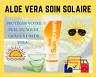 ☀️Crème solaire Aloe UVA/UVB Waterproof Résistant SPF Sun 118ml Famille Forever