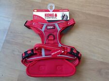 KONG CONTROL Dog Harness - Small - Red Brand new Bonus Handle for added Control