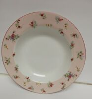 Laura Ashley Petite Fleur Dinnerware Soup Salad Bowl Dish Roses Floral VTG RARE