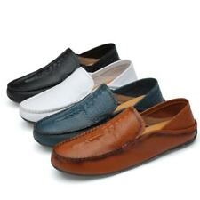 Men Alligator Real Leather Slip On Loafers Dress Formal Business Casual Shoes SZ