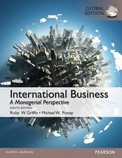 NEW 3 Days to AUS International Business 8E Ricky W. Griffin Pustay 8th Edition
