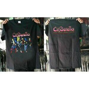 NEW RARE!! Cinderella Band World Tour T-shirt Night Song 86 US Unisex Size S-4XL