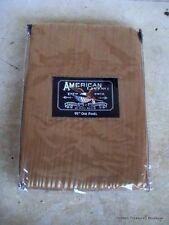 American Living JCP Grantley Sheer Stripe Gold 54x95 Panel