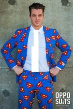OPPOSUIT Superman Mens Adult Opposuits Suit Outfit Superhero Comic Cosplay UK 40