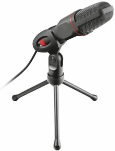 Trust GXT 212 Micro Microphone With Stand - 3.5mm Connection (NOT USB) - Boxed