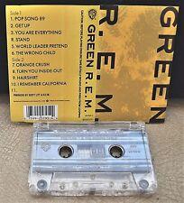 R.E.M.      - GREEN -                                              Cassette Tape